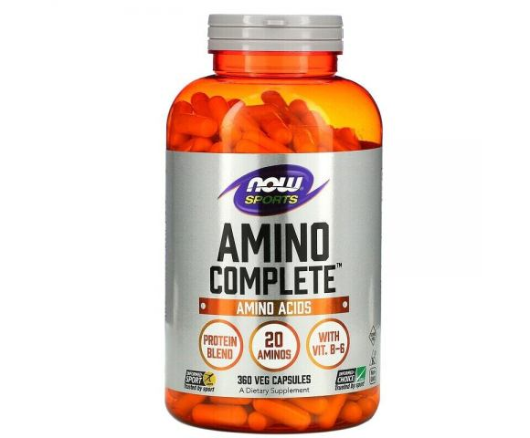 Now Foods Amino Complete (120 капс.)
