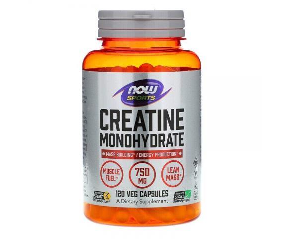 Now Foods Creatine Monohydrate (120 капс.)