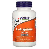 Now Foods L-Arginine 500 mg (100 капс.)