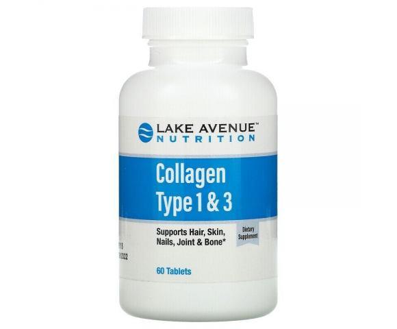 Lake Avenue Nutrition Collagen Type 1 & 3 (60 таб.)