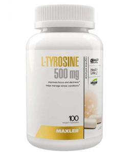 Maxler L-Tyrosine 500 mg (100 капс.)