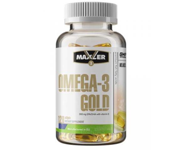 Maxler Omega-3 Gold (120 капс.)