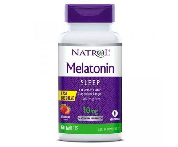 Natrol Melatonin 10 mg (60 таб.)