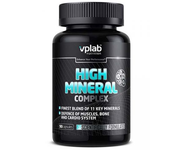 VPLab Nutrition High Mineral Complex (90 капс.)