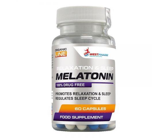 WestPharm Melatonin (60 капс.)