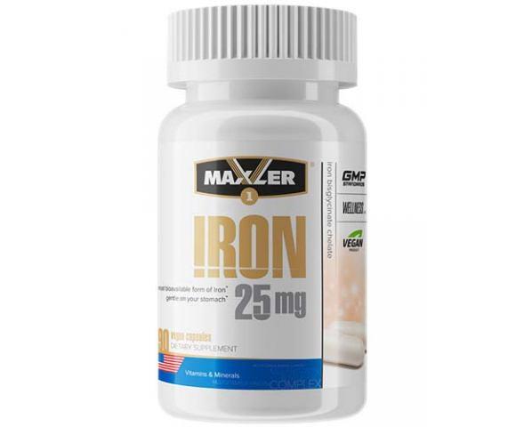 Maxler Iron 25 mg (90 капс.)