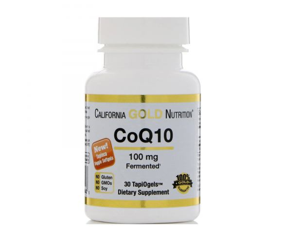 California Gold Nutrition CoQ10 (30 капс.)
