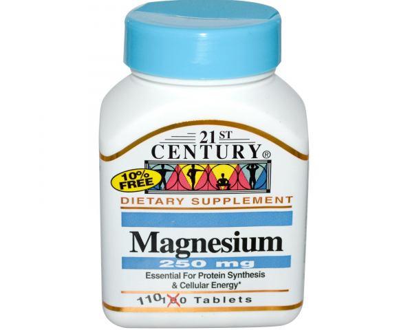 21st Century Magnesium 250 mg. (110 таб.)