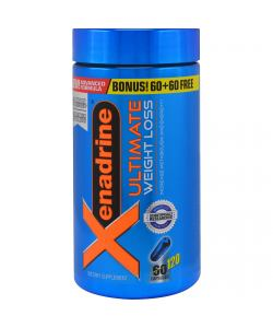 MuscleTech Xenadrine Ultimate Weight Loss (120 капс.)