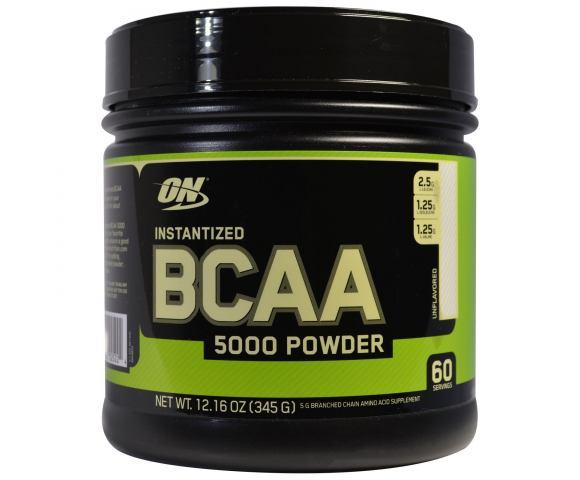 Optimum Nutrition BCAA 5000 Powder (345 гр.)