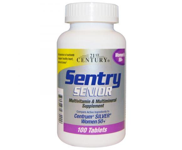 21st Century Sentry Senior Women 50+ (100 таб.)