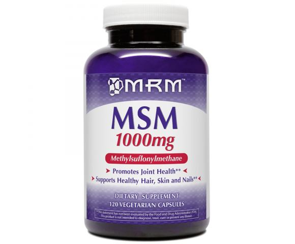 MRM МSМ 1000 мг (120 капс)