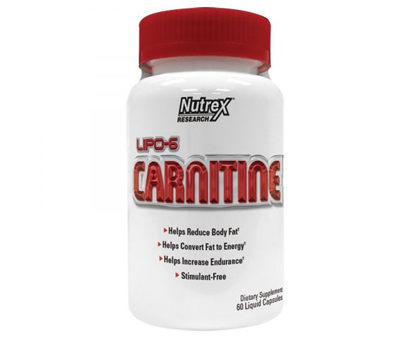 Nutrex Research Carnitine (60 капс.)