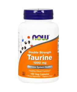 Now Foods Taurine 1000 mg (100 капс.)