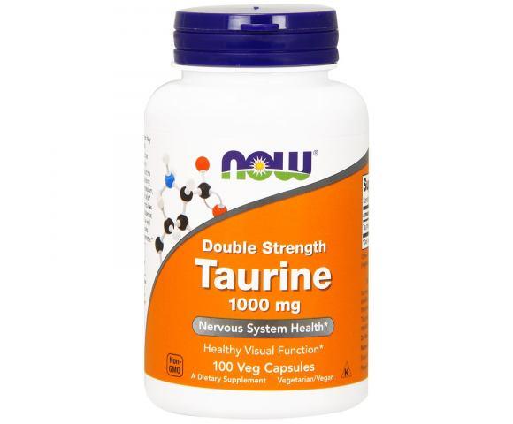 Now Foods Taurine 1000 mg (100 капс.)