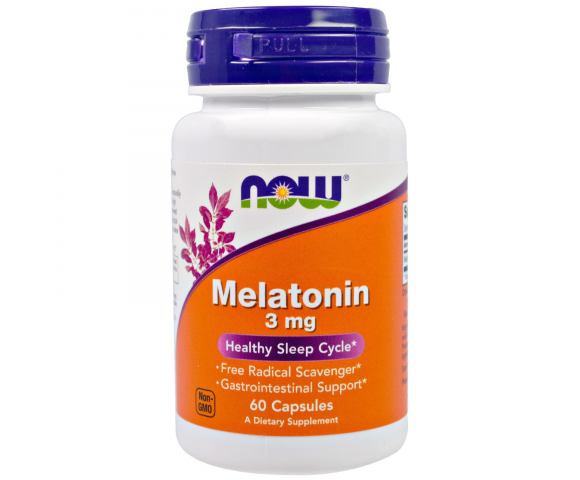 Now Foods Melatonin (60 капс.)