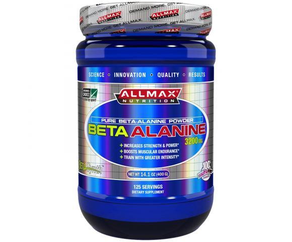 ALLMAX Nutrition BetaAlanine 3200 мг. (400 гр.)