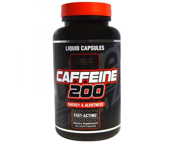 Nutrex Research Caffeine 200 (60 капс.)