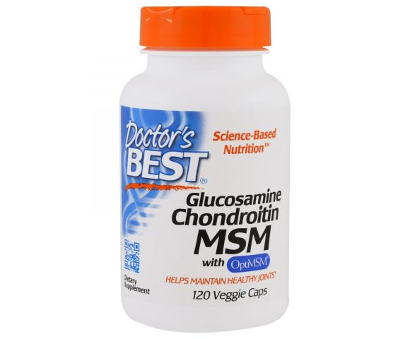 Doctor's Best Glucosamine Chondroitin MSM (120 капс.)