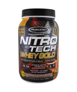 MuscleTech NitroTech Whey Gold (1130 гр.)