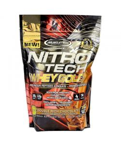 MuscleTech NitroTech Whey Gold (454 гр.)