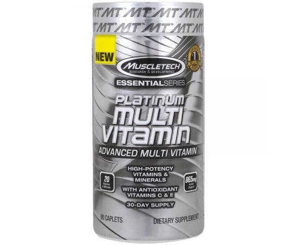 MuscleTech Plantinum Multi Vitamin (90 таб.)