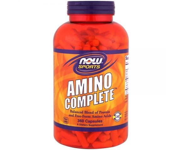 Now Foods Amino Complete (360 капс.)