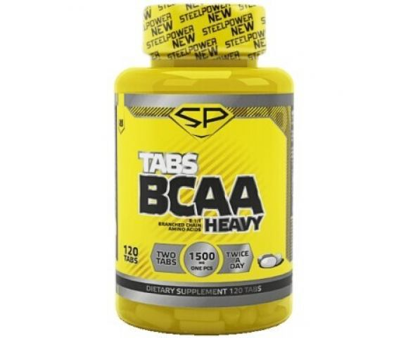 SteelPower Nutrition BCAA Heavy (120 таб.)
