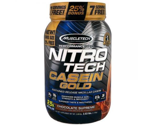 MuscleTech NitroTech Casein Gold (1150 гр.)
