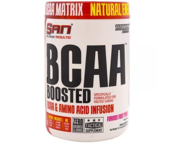 SAN BCAA Boosted (417,6 гр.)