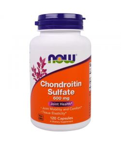 Now Foods Chondroitin Sulfate 600 mg (120 капс.)