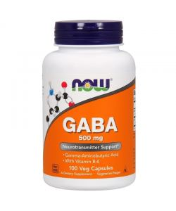 Now Foods GABA 500 mg (100 капс.)