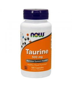 Now Foods Taurine 500 mg (100 капс.)