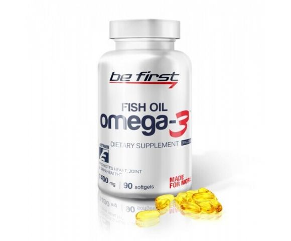 Be First Omega-3 + Vit. E (90 капс.)