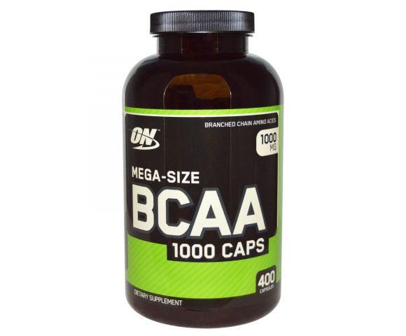 Optimum Nutrition BCAA 1000 caps (400 капс.)