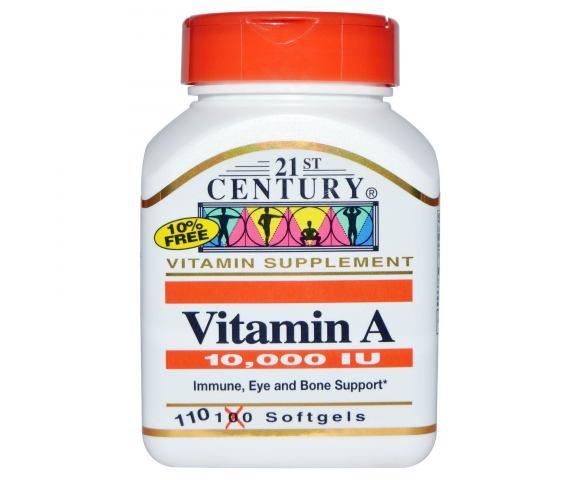 21st Century Vitamin A (110 капс.)