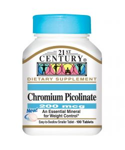 21st Century Chromium Picolinate (100 таб.)