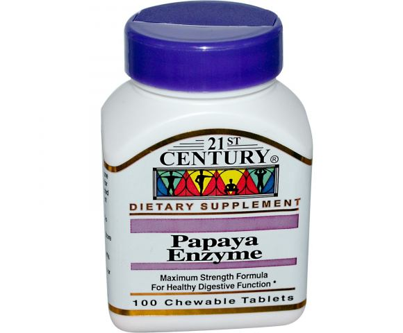 21st Century Papaya Enzyme (100 таб.)