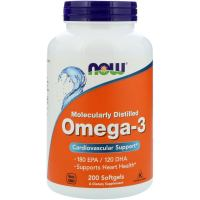 Now Foods Omega-3 (200 капс.)