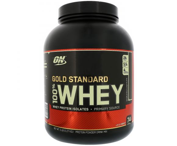 Optimum Nutrition 100% Whey Gold Standard (2270 гр.)