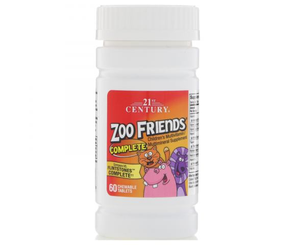 21st Century Zoo Friends (60 таб.)