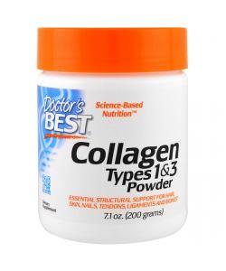 Doctor's Best Коллаген тип 1 и 3 (200 гр.)