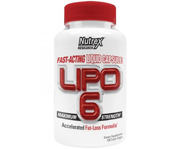 Nutrex Research Lipo 6 Maximum Strength (120 капс.)