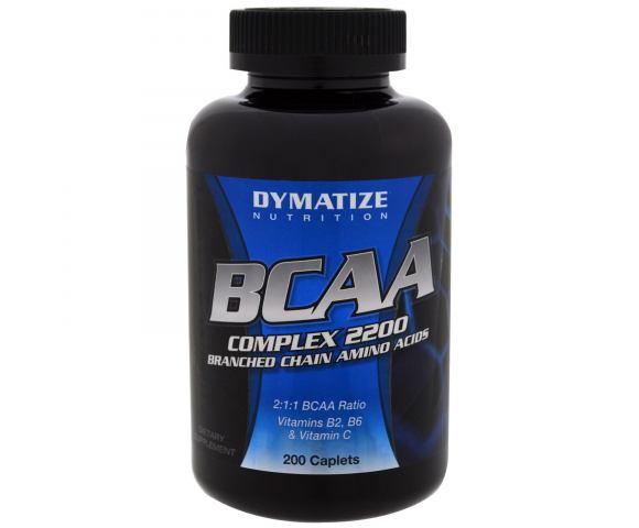 Dymatize Nutrition BCAA Complex 2200 (200 таб.)