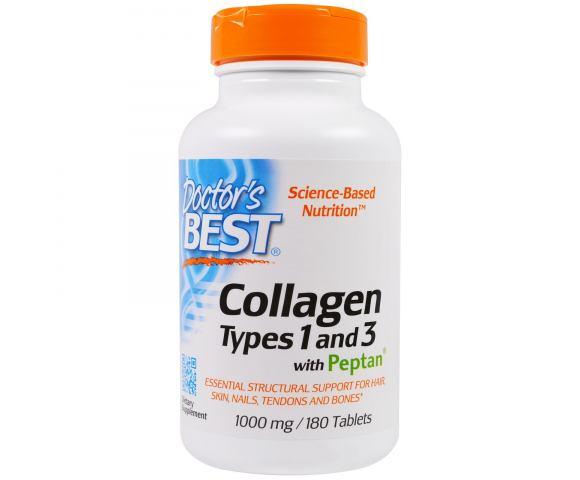 Doctor's Best Коллаген 1 и 3 типа (180 табл.)