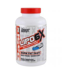 Nutrex Research Lipo 6X (120 капс.)