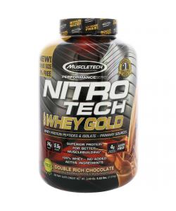 MuscleTech NitroTech Whey Gold (2510 гр.)