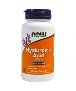 Now Foods Hyaluronic Acid 50 mg (60 капс.)